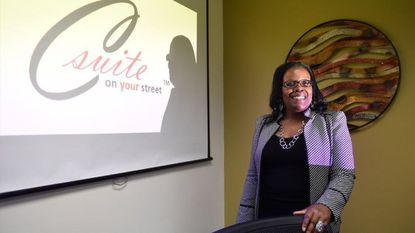 """LaTaunya Howard is the host of the new show """"C-Suite on Your Street"""" on Laurel TV."""