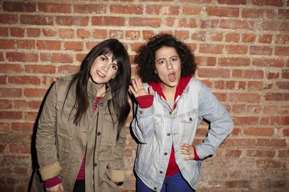 """Abbi Jacobson (left) and Ilana Glazer co-created and star in """"Broad City"""" debuting Wednesday on Comedy Central. Jacobson is a 2006 grad of Maryland Institute College of Art."""