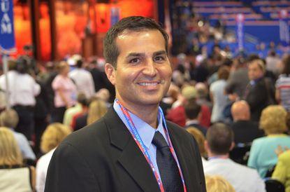 WBAL's new morning news anchor Bryan Nehman.