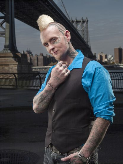 """Halo, owner/artist at Black Lotus Tattoo in Severn, is a contesant on Spike TV's """"Ink Master"""" Season 4 which premieres on Tuesday, Feb. 25 at 10 p.m."""