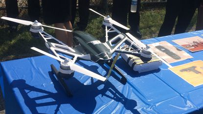 This was the drone that wasintercepted in August near a Western Maryland prison.