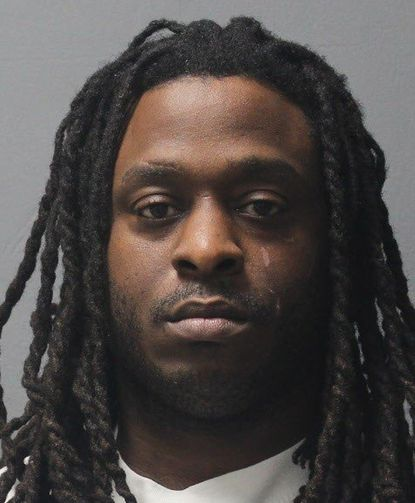 Dominic Marcel Fowler, 35, of Washington, D.C., is charged with multiple counts of burglary, theft and destruction of property after police said he and another man stole or attempted to steal rims and tires from vehicles at auto dealerships in Howard County since August. - Original Credit: Courtesy photo