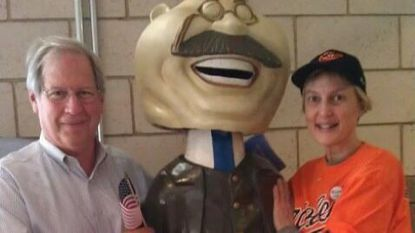 Jackie Howell, right, of Madison County, Va., is a yoga instructor, certified massage therapist and part-time baseball blogger who began following the Orioles in 1988.