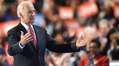 Trump mocks Biden over allegations of inappropriate touching