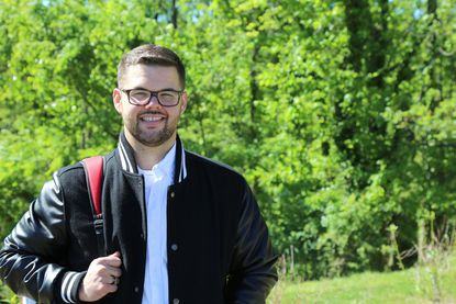 Lukas Kassa, the Community College of Baltimore County's 2017 President's Distinguished Graduate Award recipient, will deliver the commencement address for this year's Diamond Anniversary Class.