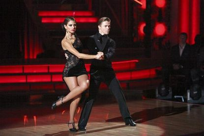 """Maria Menounos and Derek Hough on """"Dancing With the Stars."""""""
