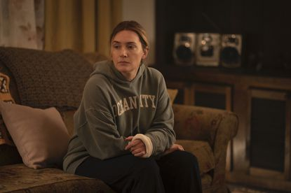 """Kate Winslet plays a small town Pennsylvania detective in """"Mare of Easttown"""" on HBO."""