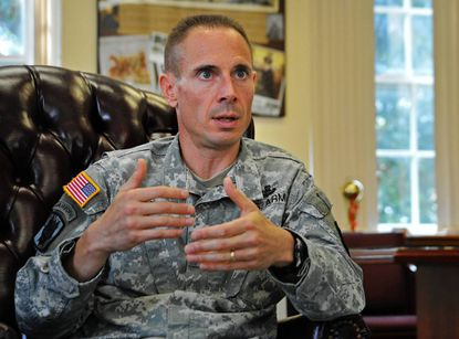 Col. Brian P. Foley, formerly at the Pentagon, took command of Fort Meade in August.