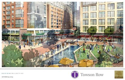 Whole Foods is to be the anchor tenant for the $350 million Towson Row development.