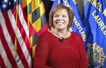 Lesley Brinton helps American Legion Post 60 in Laurel by volunteering with everything from finances to cooking and essay contests.