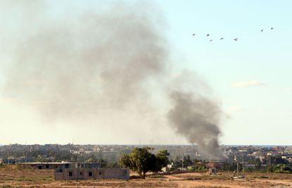 U.S. launches airstrikes targeting Islamic State in Libya