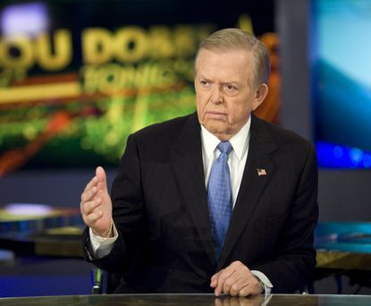 Lou Dobbs, host of Lou Dobbs Tonight on the Fox Business Network, allowed his show to be used to seed mainstream media with conspiracy theories about the State Department, Ukraine and investor George Soros in connection with the impeachment hearings. Fox Business Photo.
