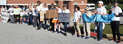 Baltimore Jews against ICE along with various community groups protested and blocked the entrance of the Howard County Detention Center this summer. As the Census count is taken this year, some are worried immigrants and other groups will be undercounted.