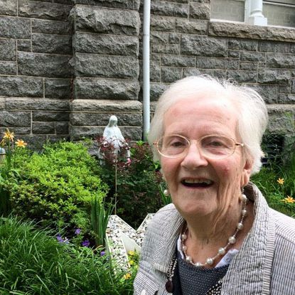 """Mary P. """"Pat"""" McCusker was a nurse in the recovery room at the old Baltimore County General Hospital in Randallstown, now Northwest Hospital, where she worked until retiring in 1985."""
