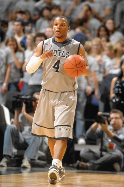 Chris Wright averaged 12.9 points per game for the Georgetown Hoyas before playing pro ball in Europe. His foundation is holding a fundraiser, Bowling to Fight Multiple Sclerosis, at Laurel AMF on March 1.