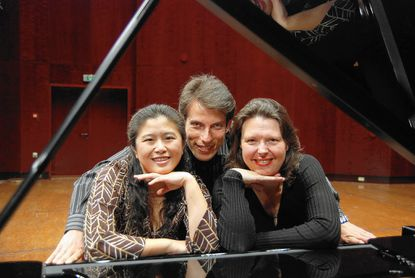 The Mendelssohn Trio's members are, from left, pianist Ya-Ting Chang, violinist Peter Sirotin and cellist Fiona Thompson.