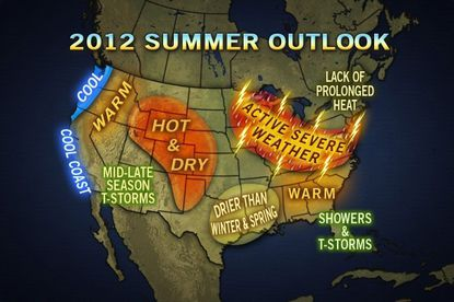 AccuWeather predicts stormy summer with normal temperatures