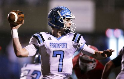 Incoming Maryland quarterback Gage Shaffer passed for 2,037 yards and 24 touchdowns as a high school senior.