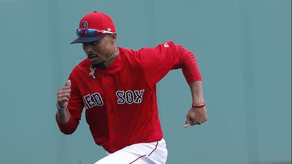 Mookie Betts and the Red Sox play the Yankees today.
