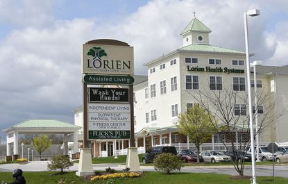 Two residents of the Lorien Taneytown nursing home have tested positive for the coronavirus, the facility has confirmed.