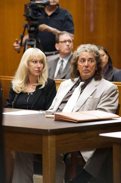 "Helen Mirren and Al Pacino star in the HBO film ""Phil Spector"""