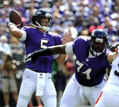 Ravens: Flacco playing better than numbers show