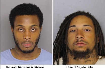 Renardo Whitehead and Dion Boler are both charged with first degree murder in the death of Glenroy St. Aubyn Copeland.