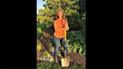 """Westminster landscape designer Sharon Bollinger says her job """"is a completely artistic endeavor that also combines technical challenges, site conditions and client interaction."""""""