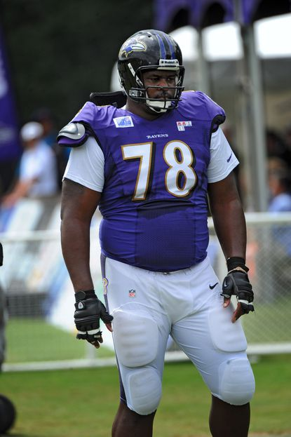 Bryant McKinnie says the talk about his weight issues is overblown.