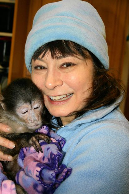 """Heather Wandell, local author of """"Monkey Business: 37 Better Business Practices Learned Through Monkeys."""""""