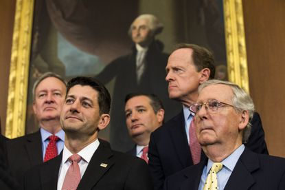 With or without Trump, GOP insurgency plans for a civil war in 2018 midterms