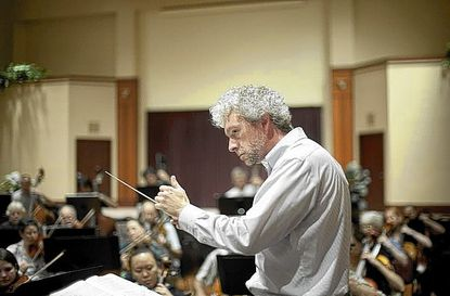 """Columbia Orchestra music director Jason Love said the coming performance season is structured around """"people we wanted to work with."""""""