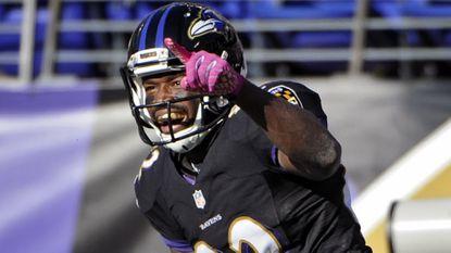 Ravens wide receiver Torrey Smith.
