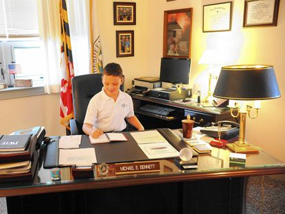 Aberdeen fourth-grader becomes mayor for the day