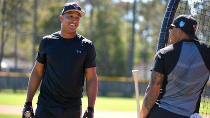 Schoop scratched from starting lineup in Orioles' Grapefruit League opener