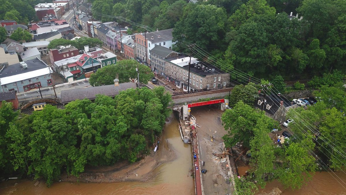 National Weather Service to specify warning designation for historic Ellicott City