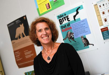 Dr. Katherine Feldman, the state public health veterinarian at the Maryland Department of Health and Mental Hygiene.