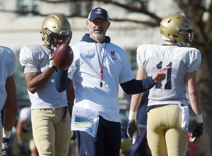 New Navy football defensive coordinator Brian Newberry.