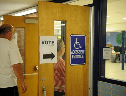 The new GOP majority on the Montgomery County election board had proposed closing two early voting centers and opening new ones regarded by some as friendlier to the GOP.