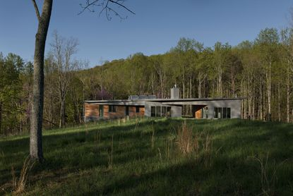 "Matthew Compton of Foundry Architects designed the ""Gobo Run House"" in Shenandoah Valley, Va."