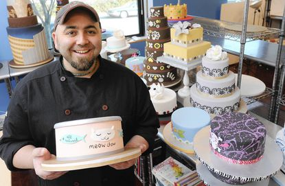 """""""My confidence comes from the fact that I'm very comfortable with being nervous,"""" Duff Goldman says. """"I'm very comfortable with my fear, because my fear comes from a very real place. It comes from a place that will make me perform above and beyond what I think I'm capable of doing."""""""