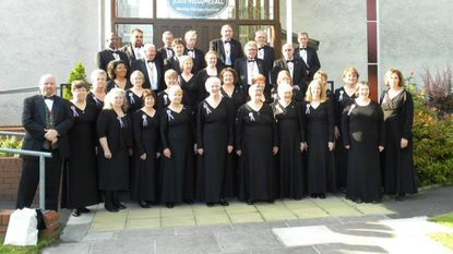 """Cor Cymraeg Rehoboth, the concert choir affiliated with Delta's Welsh church, will perform in """"Music from East and West of the Irish Sea"""" at 3 p.m. Saturday at Calvary Baptist Church in Bel Air."""