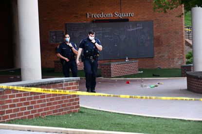 Three people were shot and injured on the Towson University campus early Saturday morning, Baltimore County police and school officials said. Officials said the shooting occurred in Freedom Square, a location where students are known to congregate.