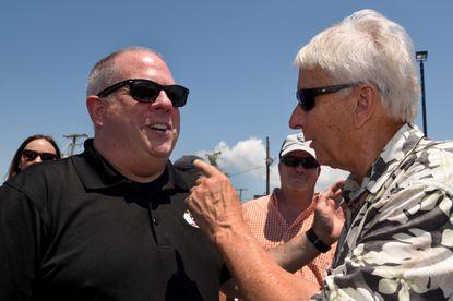 Hogan blasts Miller in dispute over health secretary
