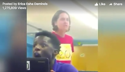 Video shows BCPS teacher yelling 'Do you wanna be a punk-ass n-ger who's gonna get shot?'