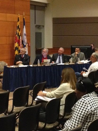 Carroll commissioners' common core forum draws a crowd