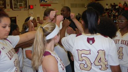 Hammond's girls basketball team earned a 70-62 victory over Oakland Mills on the road Friday, Feb. 15.