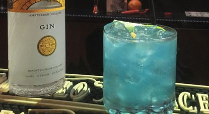 """B&O American Brasserie bartender Eric Fooy's """"Glass Slipper"""" has been declared the official cocktail of Light City Baltimore."""
