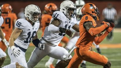 Penn State's Micah Parsons transforms from recruiting prodigy to Big Ten linebacker
