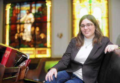 The Rev. Bonnie McCubbin at Good Shepherd United Methodist Church on Friday, March 7.